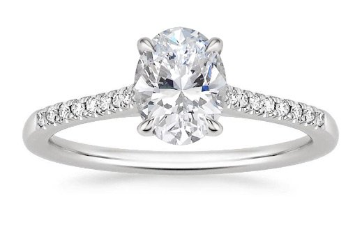 lissome oval diamond engagement ring copy