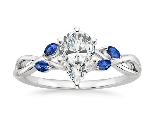 The Most Popular Oval And Pear Diamond Engagement Rings