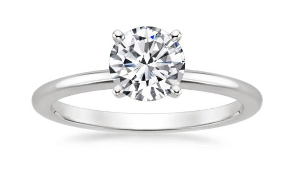 chicago solitaire engagement ring copy