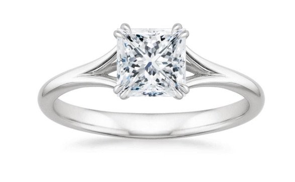 princess cut chicago engagement ring copy