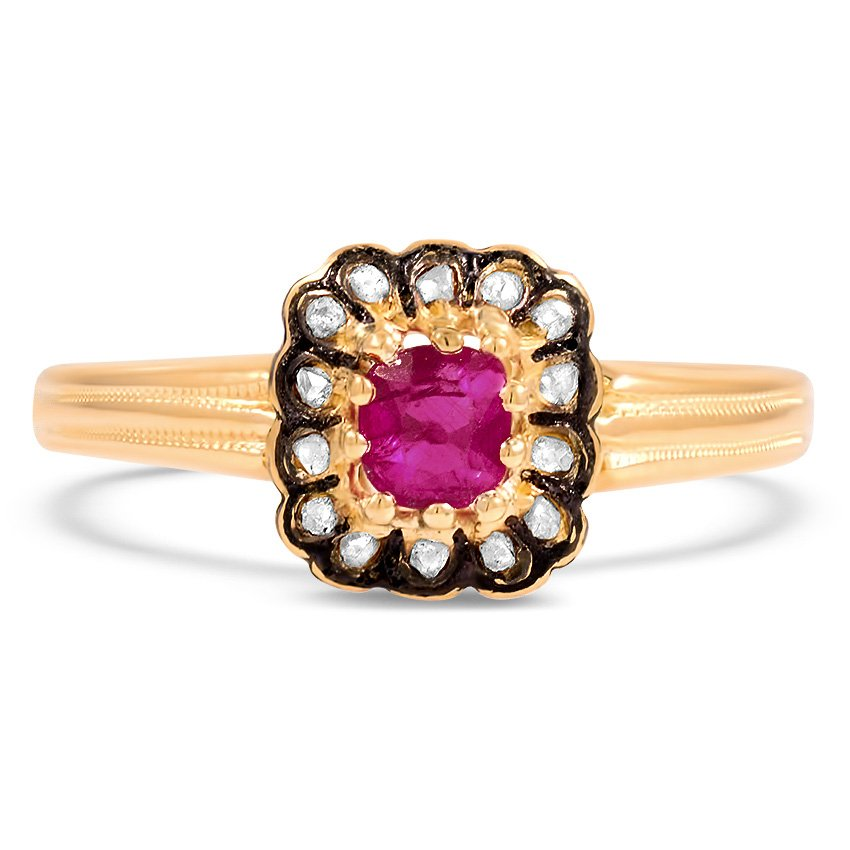 Ruby Engagement Rings Brilliant Earth