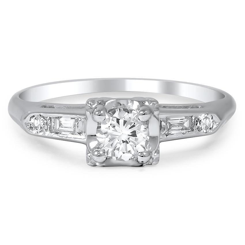 pick an antique engagement ring - Affordable Wedding Rings