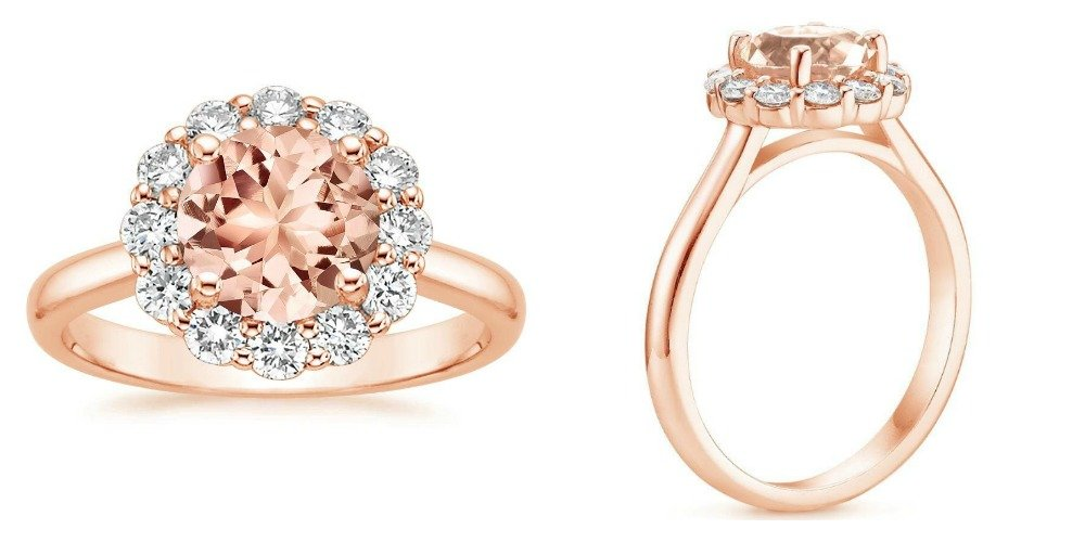 Trending Rose Gold Engagement Rings Brilliant Earth