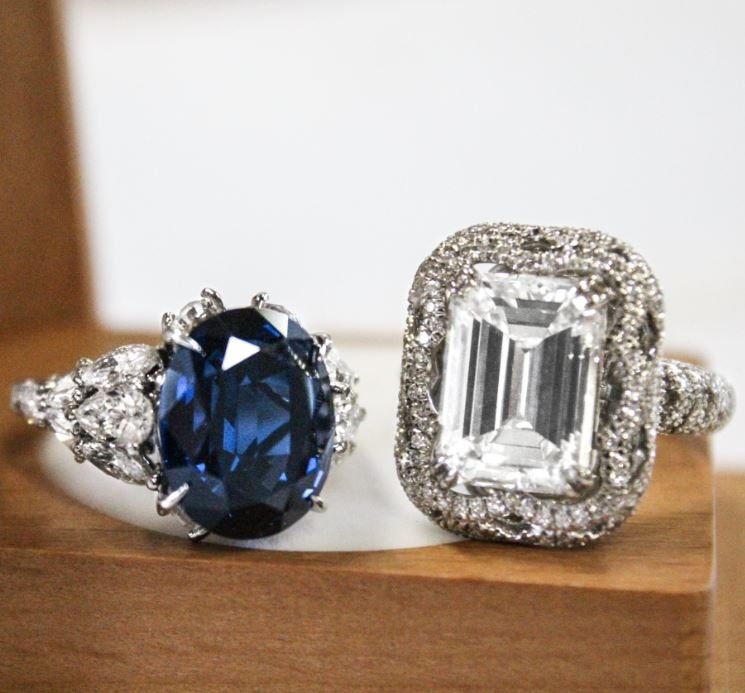 Best Custom Engagement Rings Chicago: 7 Engagement Rings That Are Works Of Art