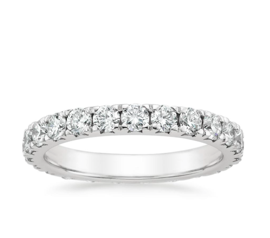 shop now luxe anthology eternity ring a ten year wedding anniversary - 25th Wedding Anniversary Rings