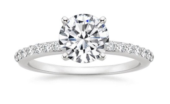 Amazing Shop Now · Petite Shared Prong San Diego Engagement Ring Copy