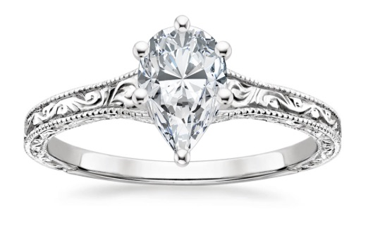 vintage-style-pear-diamond-engagement-ring-copy