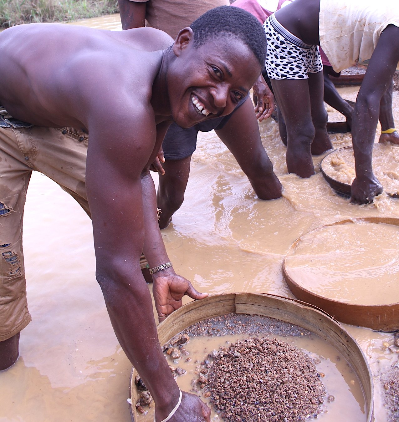 Training Artisanal Miners on What Their Diamonds are Worth