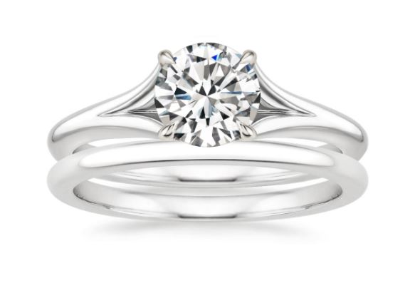 Stunning Split Shank Engagement Rings Brilliant Earth