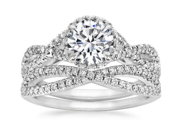 Stunning Split Shank Engagement Rings Brilliant Earth