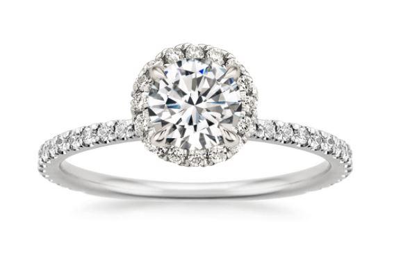 Most Popular Lab Diamond Rings Brilliant Earth