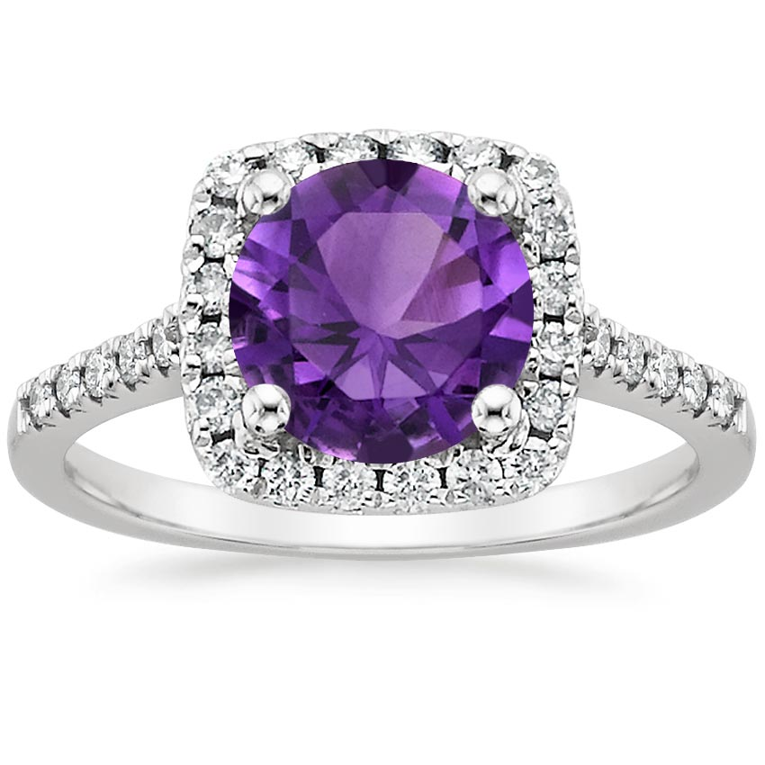 Enchanting Purple Engagement Rings | Brilliant Earth