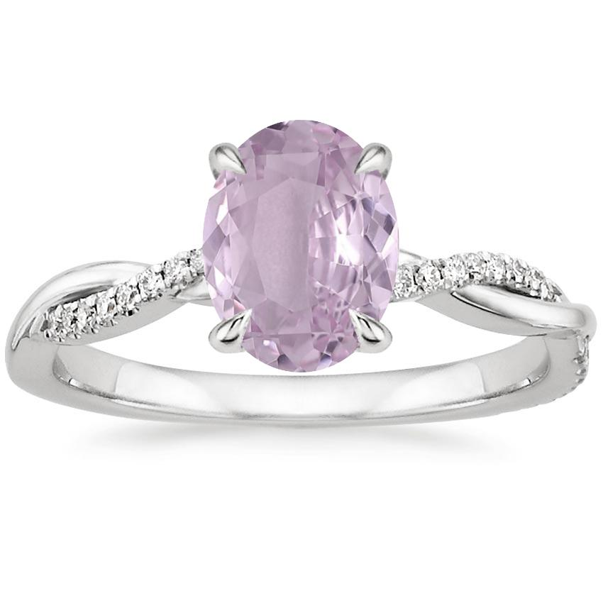 petite twisted vine diamond ring - Purple Wedding Rings