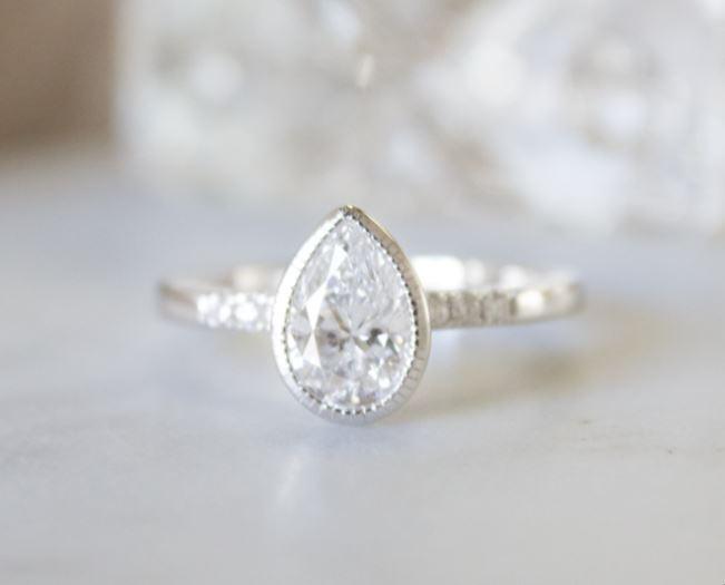 Beautiful Bezel Set Diamond Rings Brilliant Earth