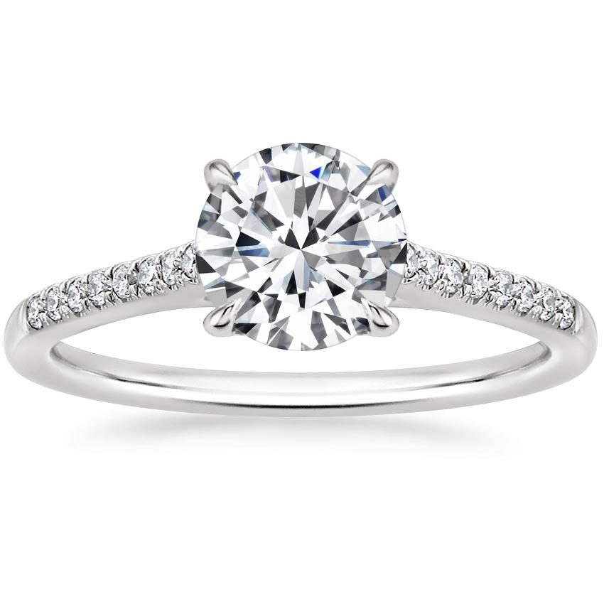 Pave Engagement Rings Brilliant Earth