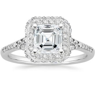 Pippa Middleton S Deco Inspired Engagement Ring Brilliant Earth