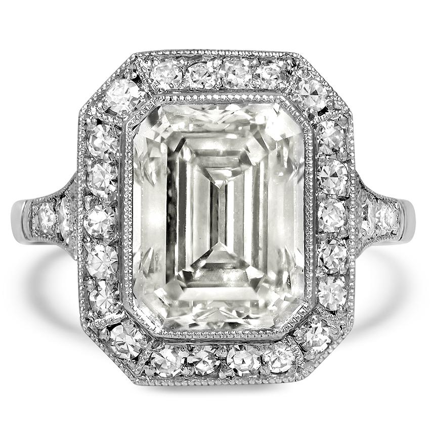 Cara Delevingne's Rumored Art Deco Engagement Ring