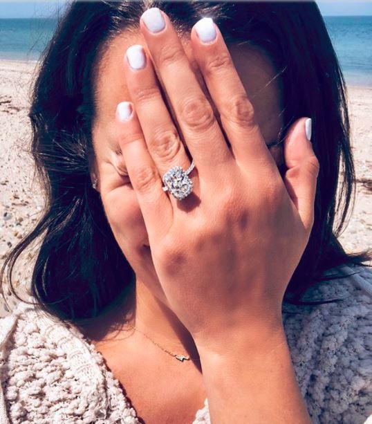 Lea Michele Engagement Ring Brilliant Earth
