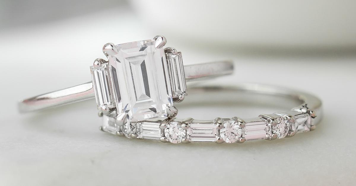 Beautiful Baguette Diamond Ring Designs