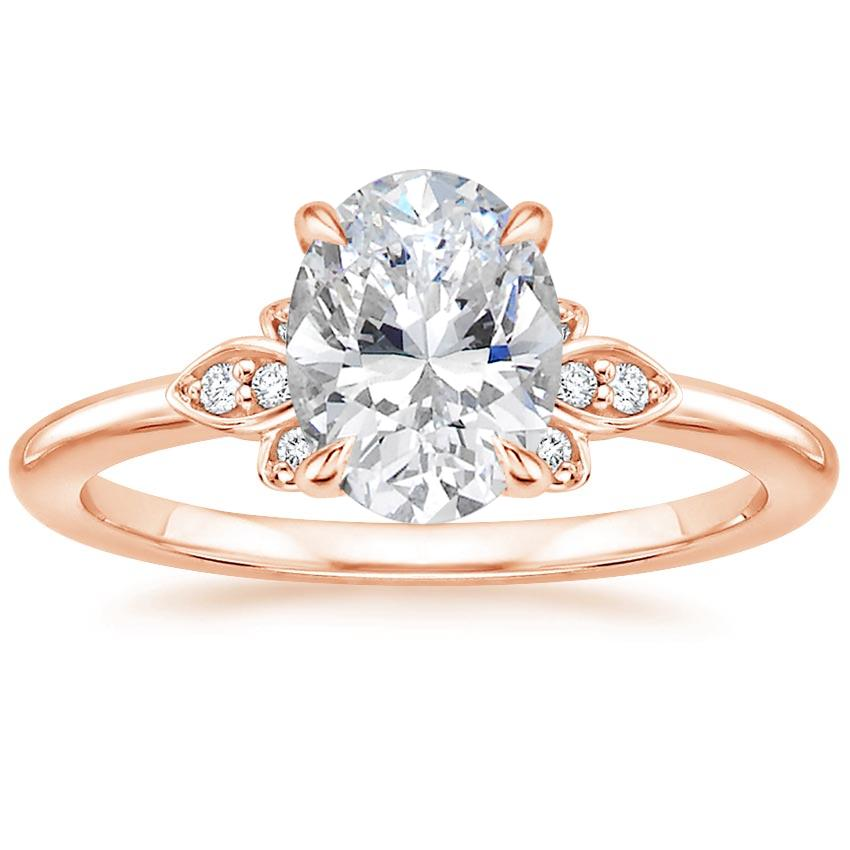 Trending Rose Gold Oval Engagement Rings Brilliant Earth Blog