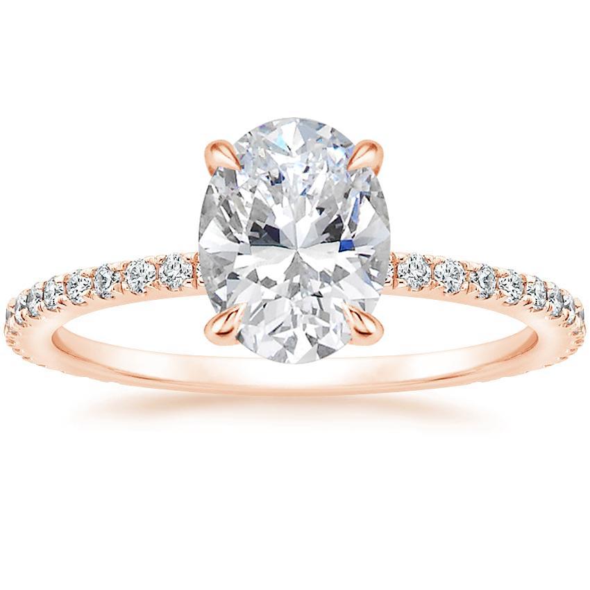 Trending Rose Gold Oval Engagement Rings Brilliant Earth Blog