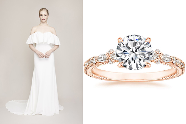 Rings To Match Your Wedding Dress Brilliant Earth