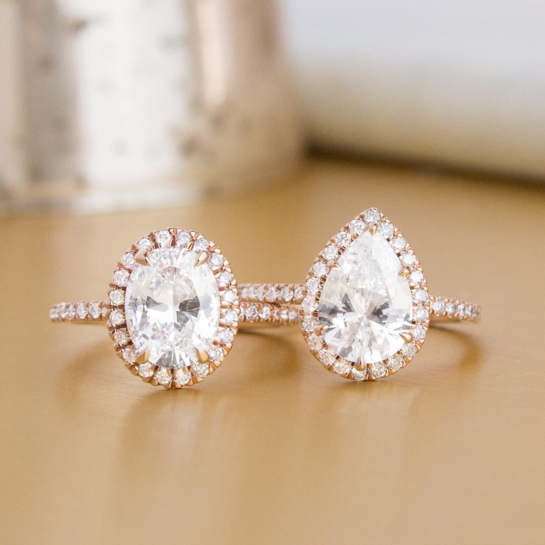 """6449f9d21a What often comes to mind when thinking of engagement rings is a traditional  round solitaire. However, non-round or """"fancy shaped"""" diamonds are becoming  ..."""