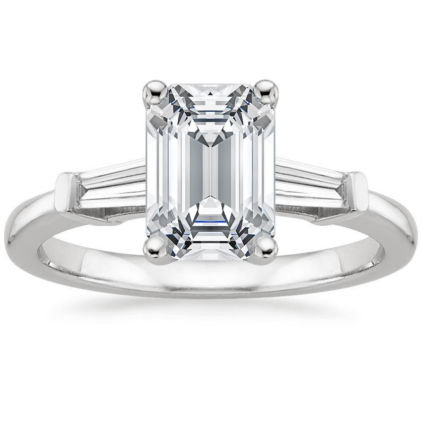 Emerald Cut Engagement Rings Brilliant Earth
