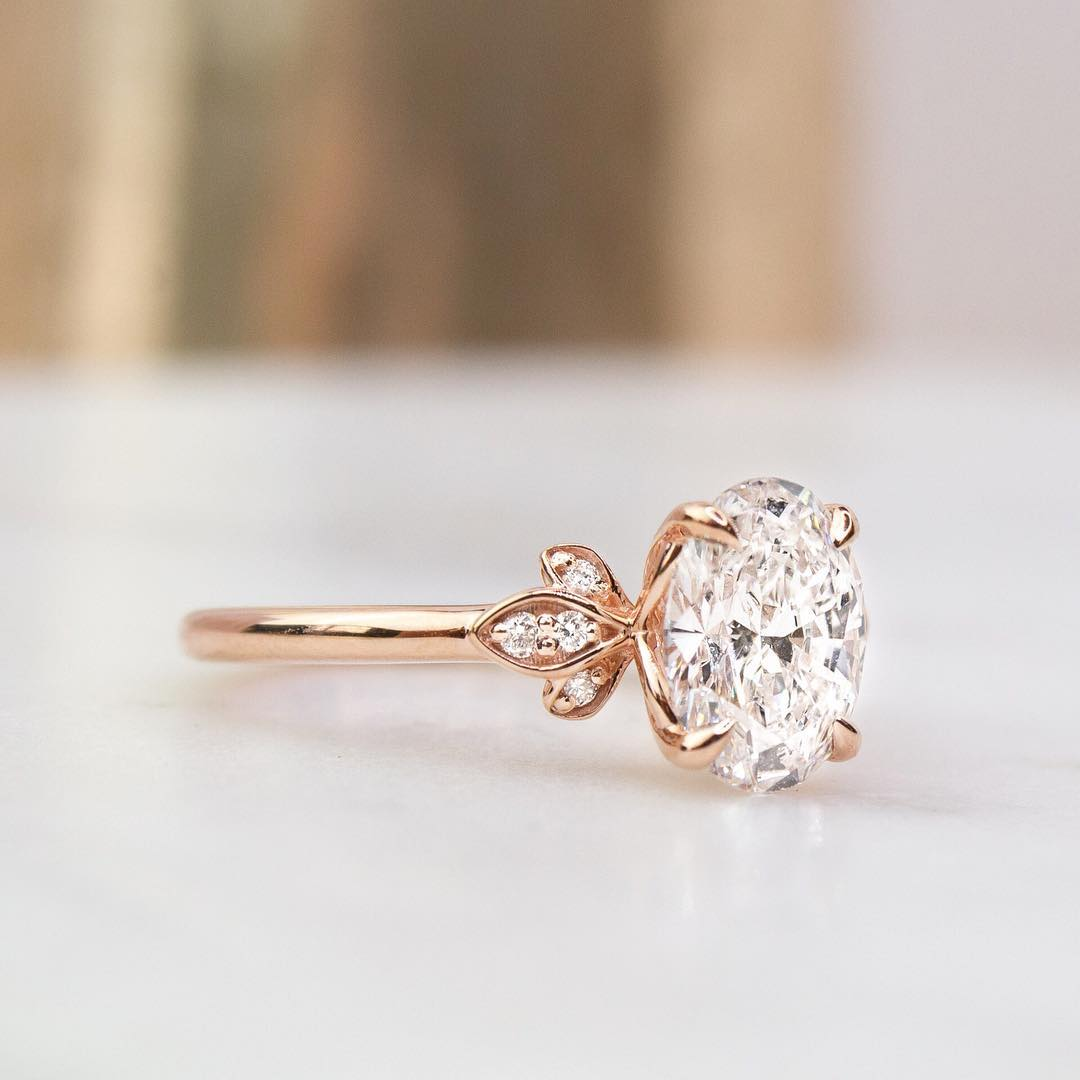 Our Most Loved Rose Gold Engagement Rings Brilliant Earth