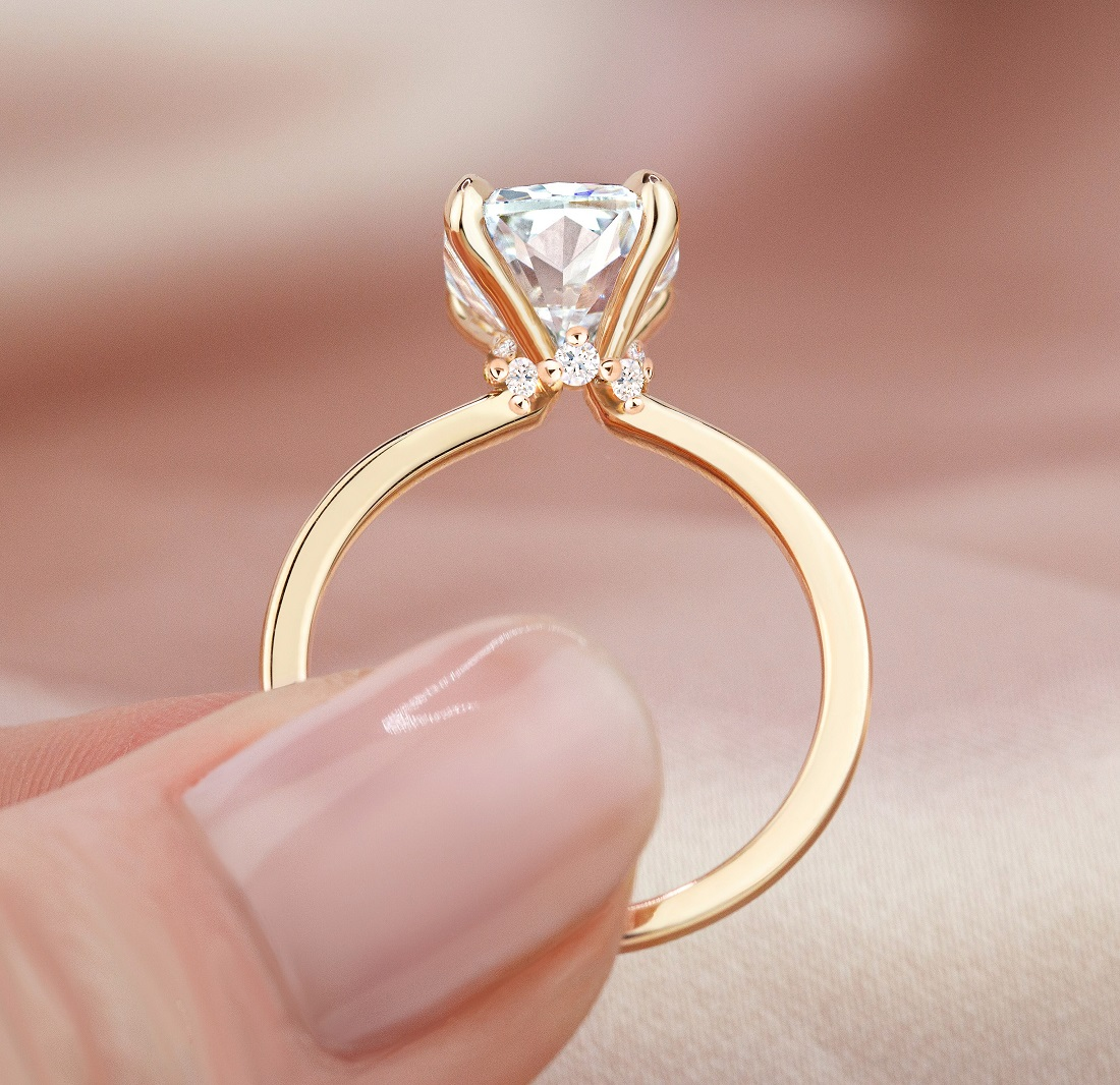 Engagement Rings With Surprise Diamonds Brilliant Earth