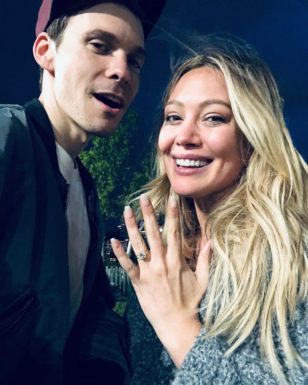 Hilary Duff Engagement Ring Brilliant Earth