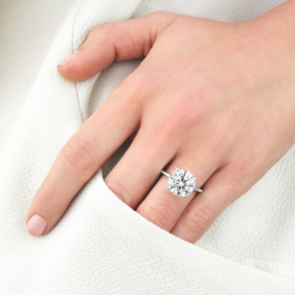 Most Popular Solitaire Engagement Rings Brilliant Earth Blog