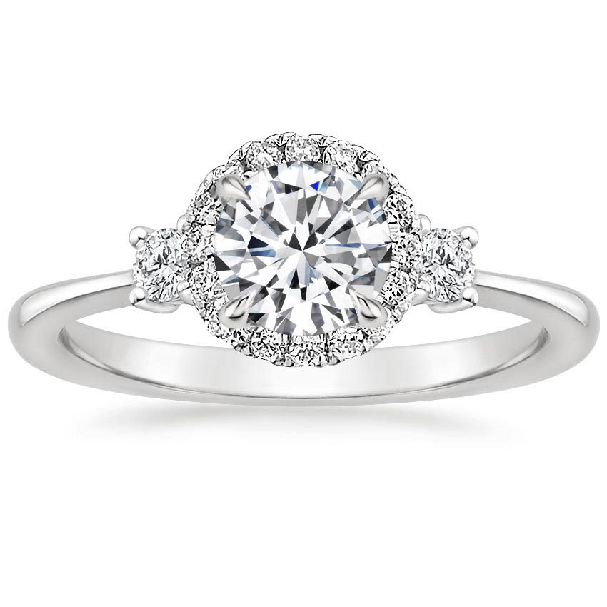 Selene-Halo-Diamond-Ring