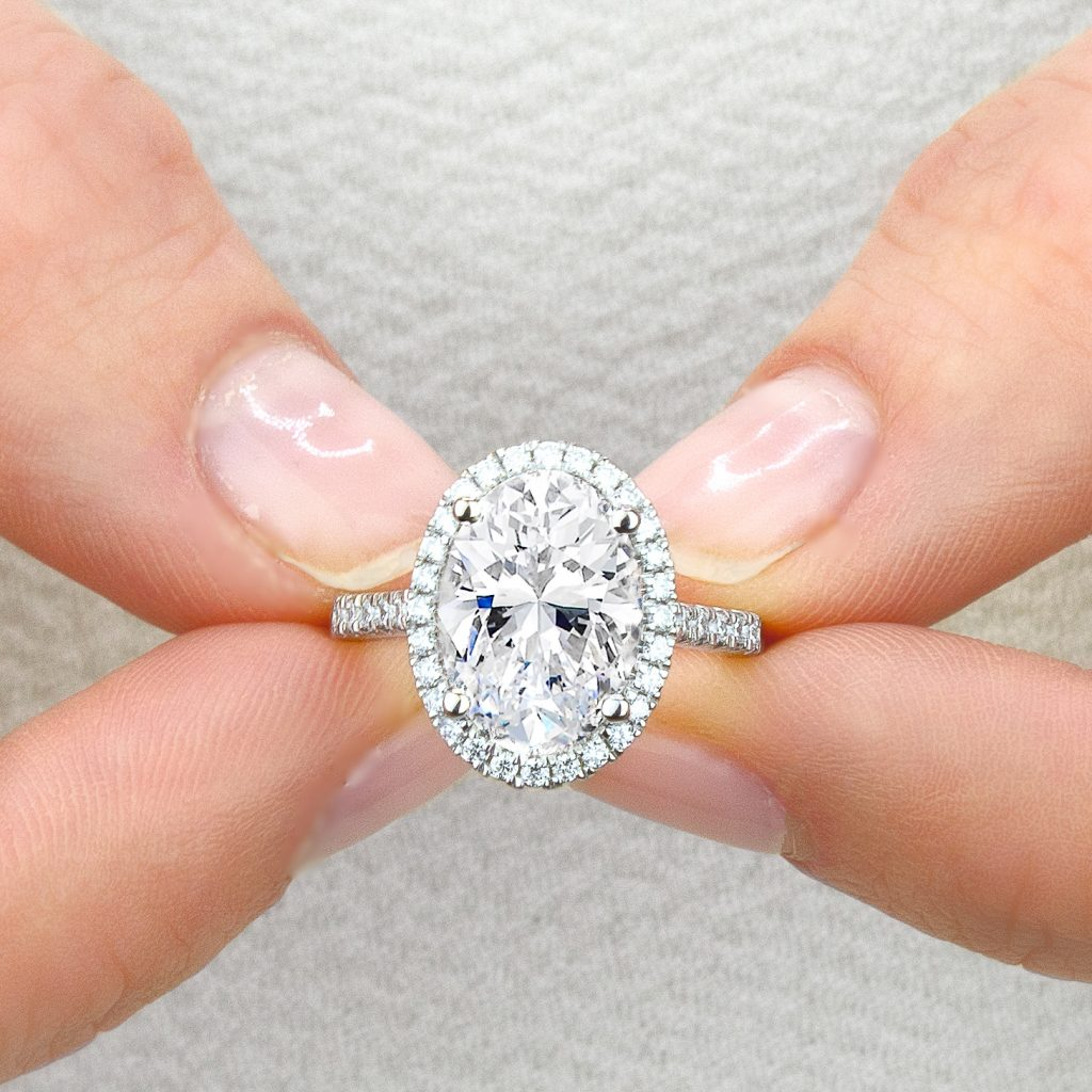 Most Popular Oval Diamond Engagement Rings on Instagram