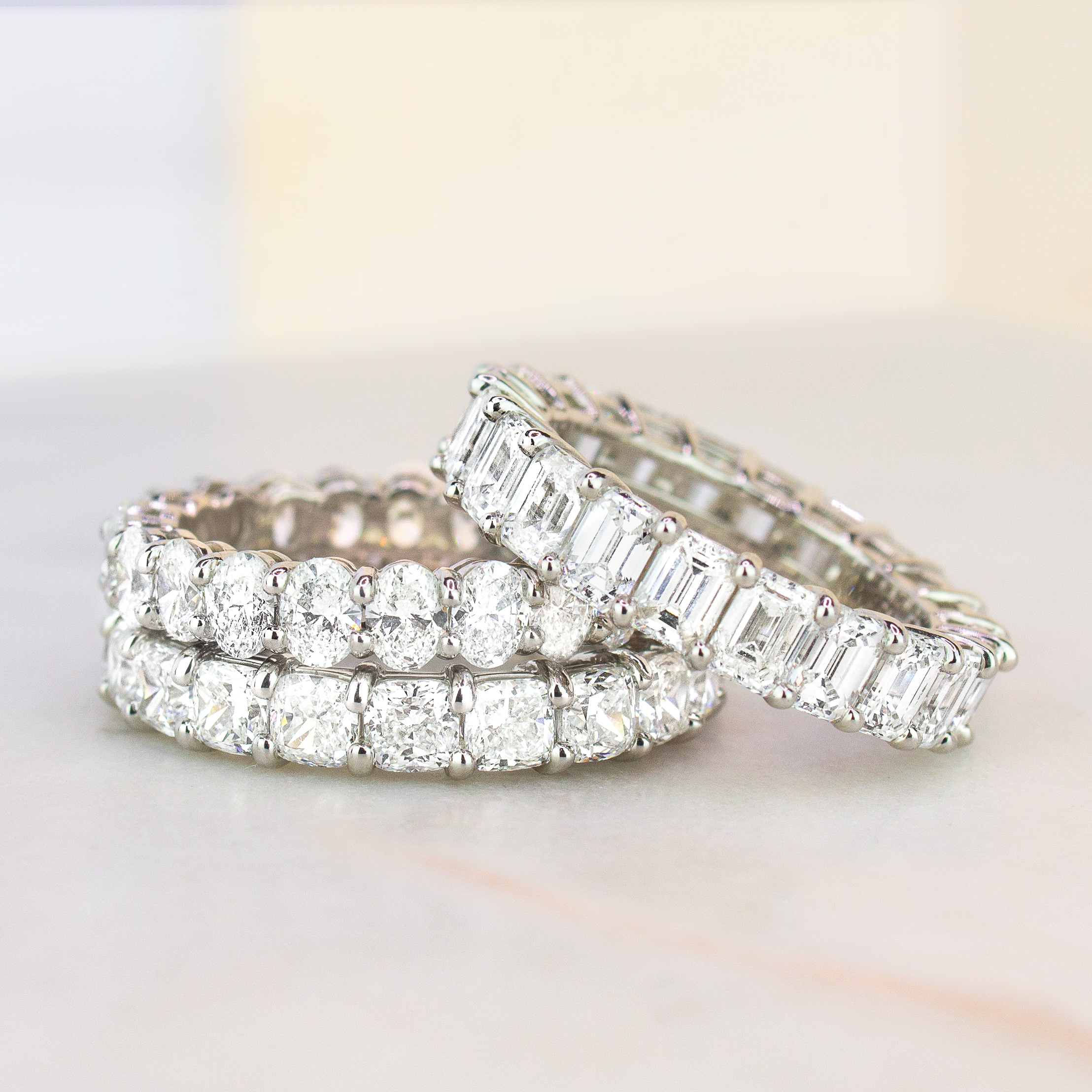 13 Diamond Wedding Bands That Can Be Used As Engagement Rings Brilliant Earth Blog