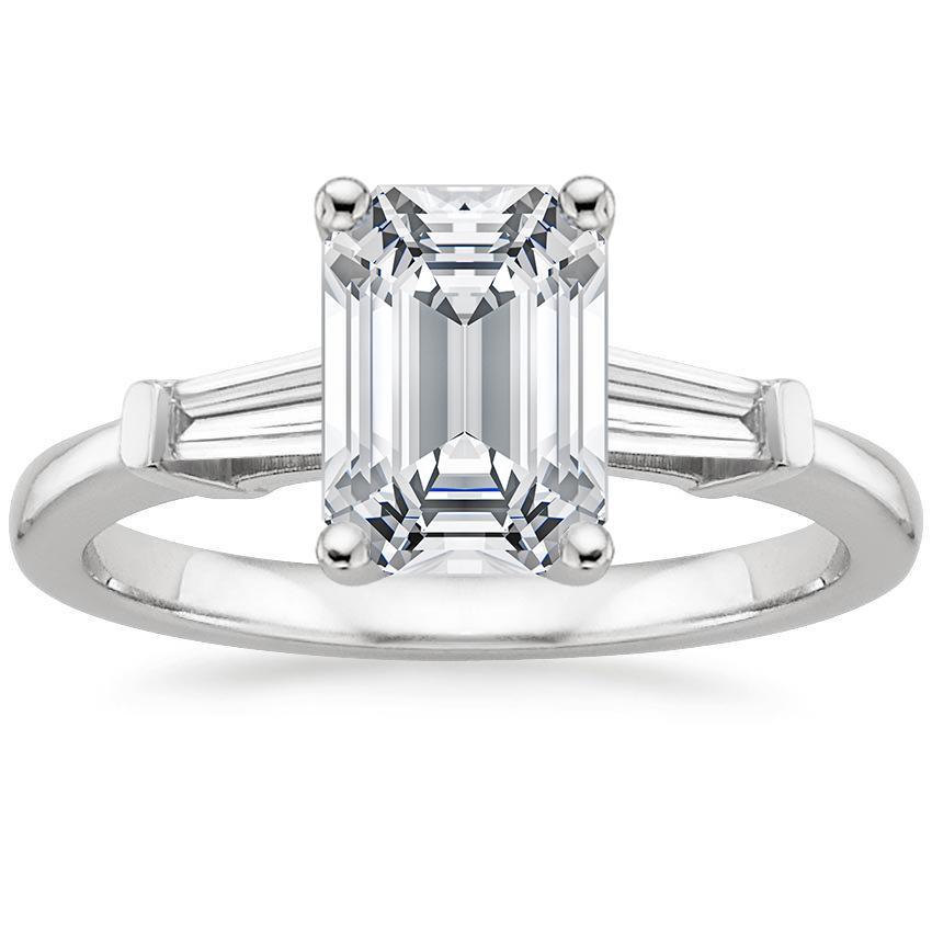 1.45 Ctw Round Ring H Si2 White Gold 14k Lab Grown Igi Certified Made To Order Engagement & Wedding Diamond