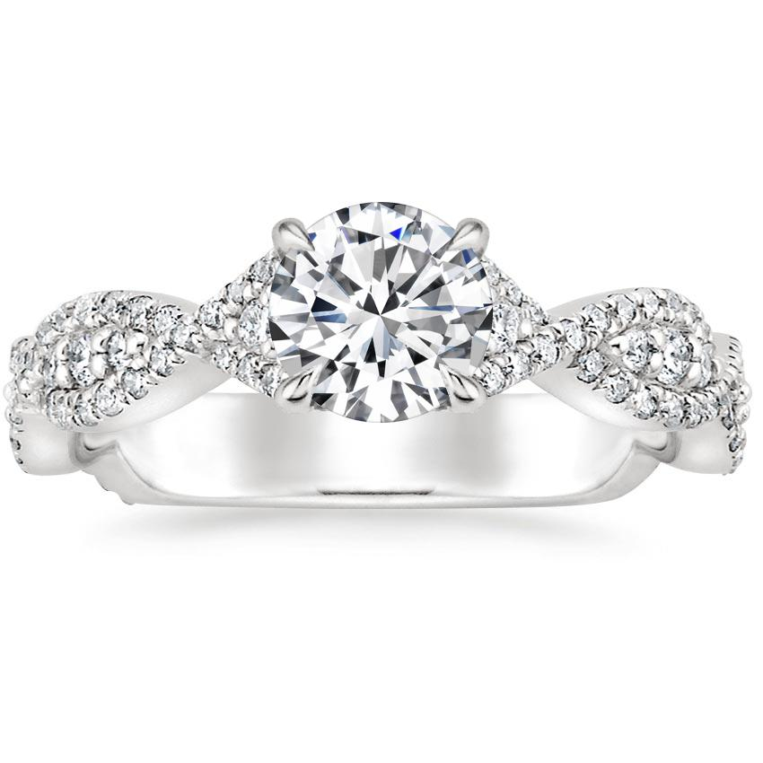 a98f08bf31263 Platinum Flourish Diamond Ring (1/2 ct. tw.)