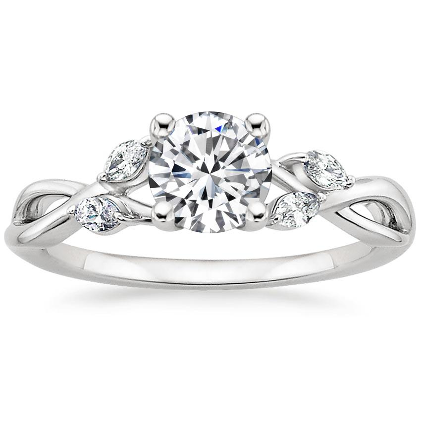 26d06642ddd Round Vine Engagement Ring