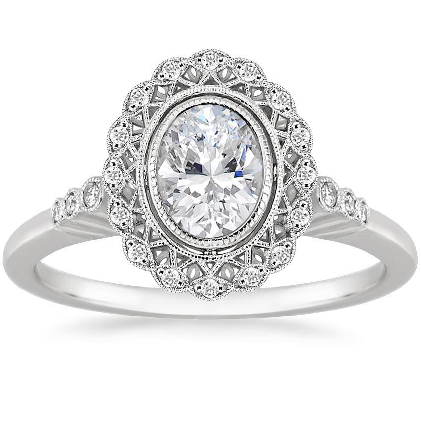 5876435c67748 18K White Gold Alvadora Diamond Ring