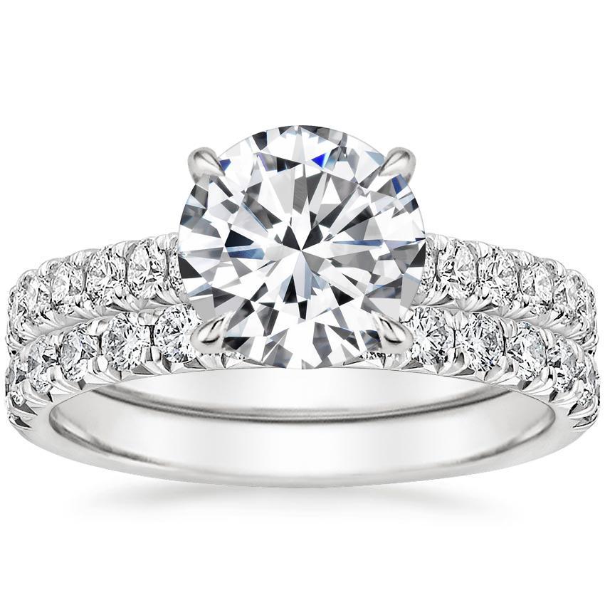86357dc58 18K White Gold Sienna Diamond Bridal Set (7/8 ct. tw.)   Brilliant Earth