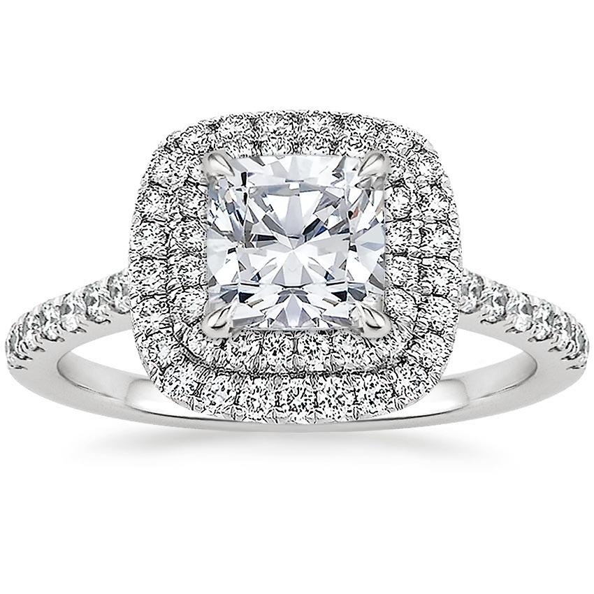 Platinum Soleil Diamond Ring 1 2 Ct Tw