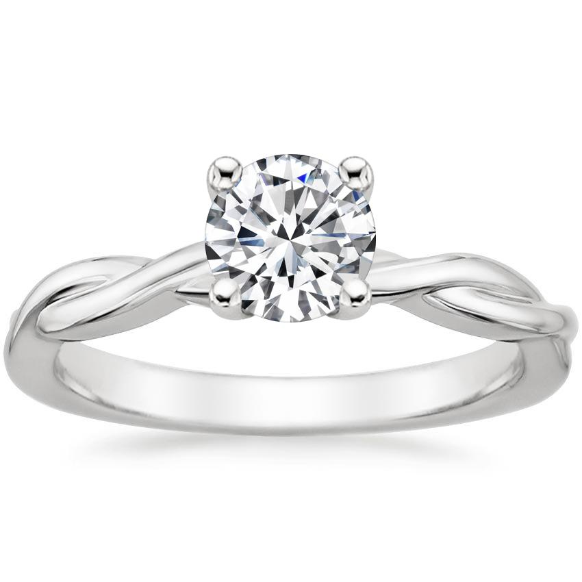 908cd791603 Round Solitaire Nature Ring