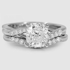Platinum Chamise Diamond Bridal Set