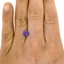 6.5mm Purple Round Sapphire, smalladditional view 1