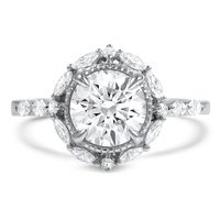 engagement front vintage designed ambrosia ring custom wedding rings collections