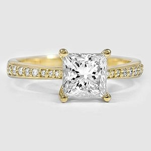 18K Yellow Gold Geneva Diamond Ring