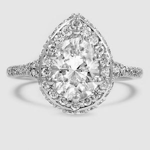 18K White Gold Circa Diamond Ring (1/2 ct. tw.)