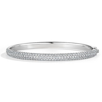 Diamond Rollover Bangle