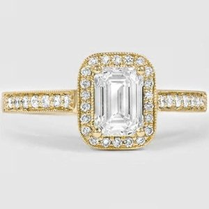 18K Yellow Gold Felicity Diamond Ring (1/4 ct. tw.)