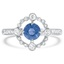 Modern Reproduction Sapphire Vintage Ring